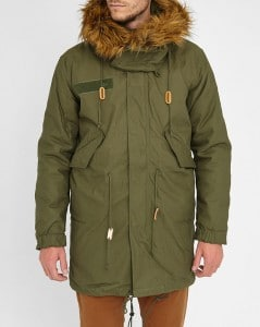parka fishtail kaki Alpha Industries