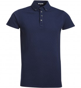 Polo bleu Scotch&Soda