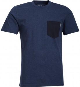 T-shirt à poche bleu Carhartt