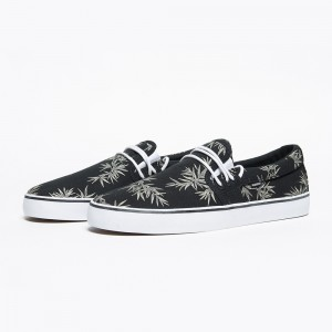 chaussures Andersen noires Element Palm Print collection