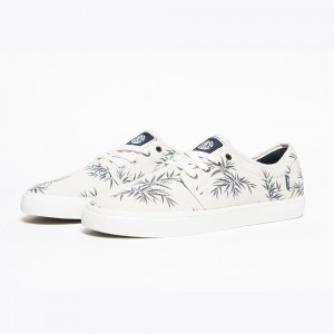 chaussures Darwin blanches Element Palm Print collection