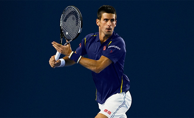 collection Novak Djokovic Open Australie Uniqlo