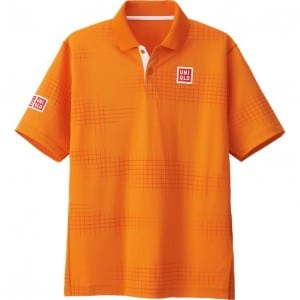 polo tennis Nishikori Uniqlo