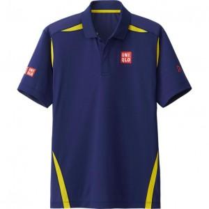 polo tennis Djokovic Uniqlo