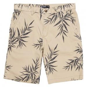 Short Jensen beige Element Palm Print collection