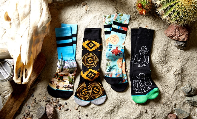 Stance socks chaussettes