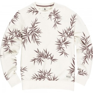 Sweat Bronson blanc Element Palm Print collection