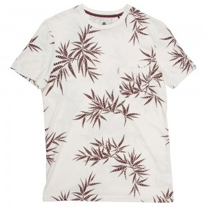 T-shirt dales beige Element Palm Print collection