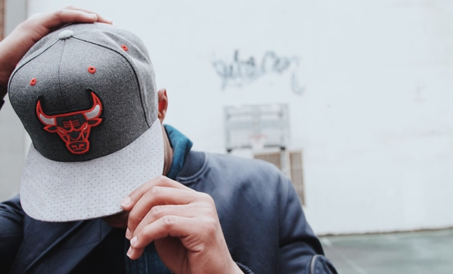 casquette Mitchell & Ness Chicago Bulls
