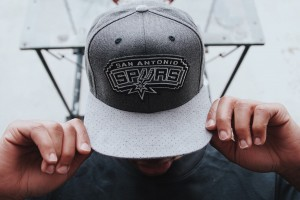 casquette Mitchell & Ness San Antonio Spurs