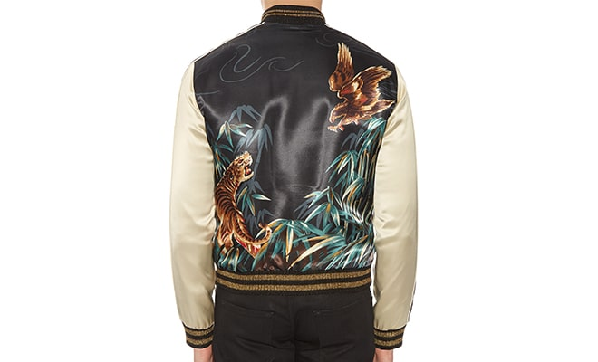 veste souvenir Saint Laurent