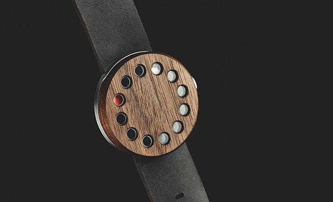 montre Grovemade en bois