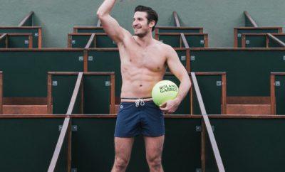 short de bain Le Slip Français Roland Garros