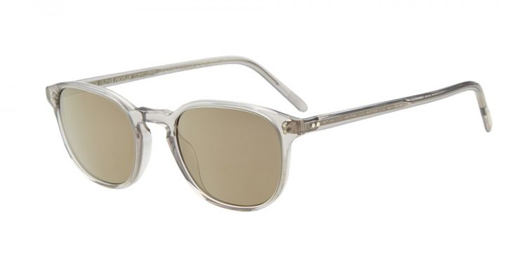 lunettes de soleil transparentes Oliver Peoples Fairmont