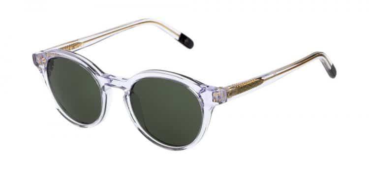 lunettes de soleil transparentes Dick Moby YVR