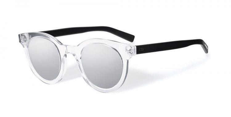 lunettes de soleil transparentes Dior blacktie218s