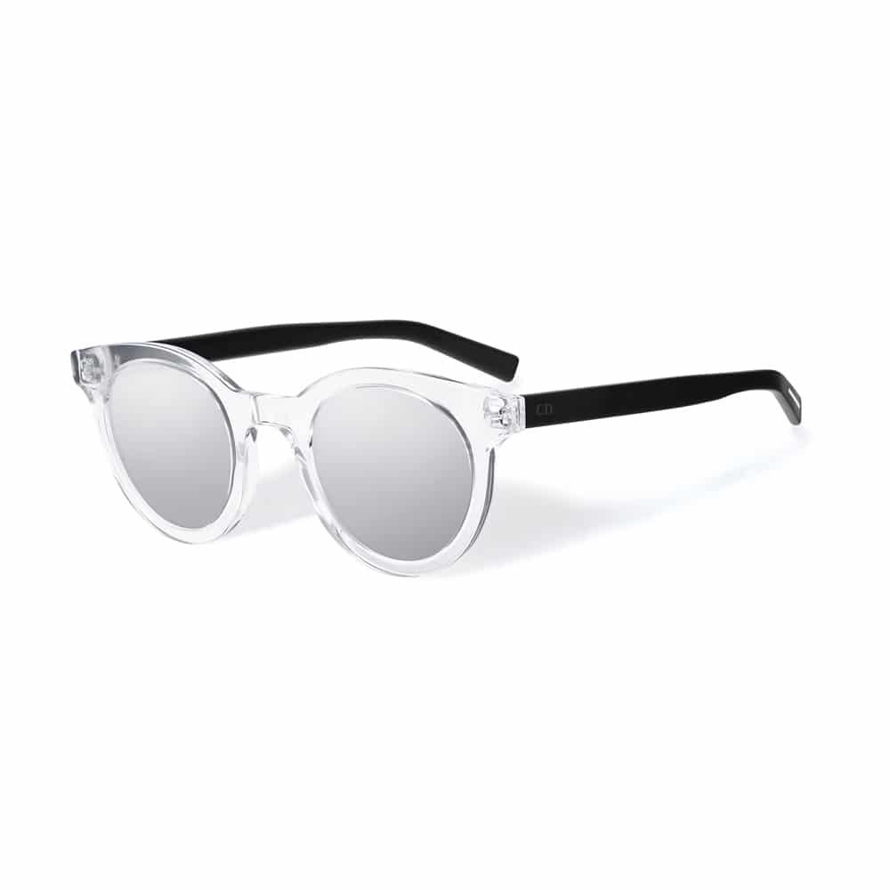 lunettes de soleil transparentes Shamballa eyewear truth. En image  d en-tête, Classic crystal sex on the beach à verres dégradés rose   orange  de Super by ... 7e317f2e6b3b