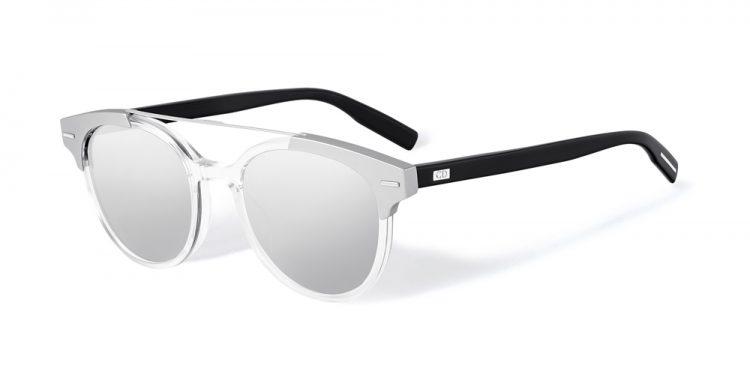 lunettes de soleil transparentes Dior blacktie220s