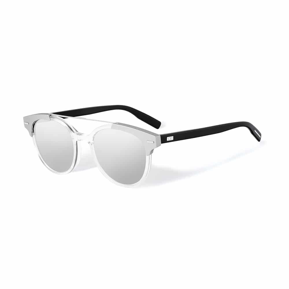 ae7a9073824f6 Voici une sélection de lunettes de soleil masculines à monture transparente