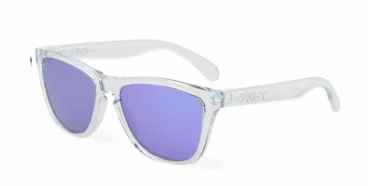 lunettes de soleil transparentes Oakley frogskin
