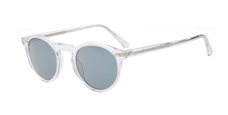 lunettes de soleil transparentes Oliver Peoples Gregory Peck