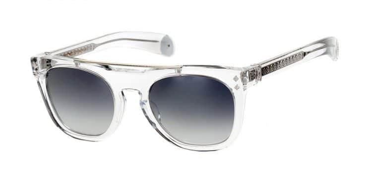 lunettes de soleil transparentes Shamballa eyewear truth