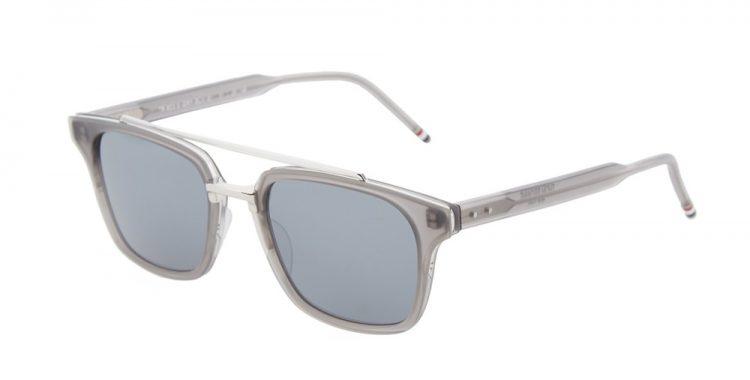 lunettes de soleil transparentes Thom Browne tb-404