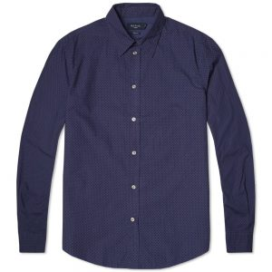 chemise polka bleue Paul Smith