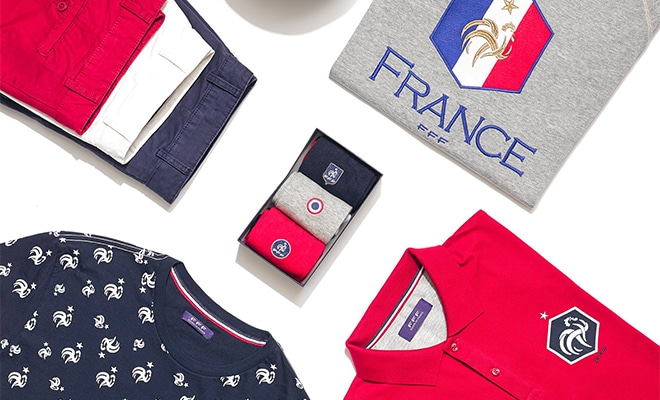 collection Celio France Euro 2016