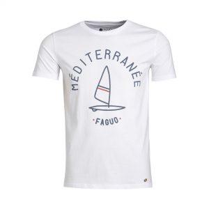 t-shirt Faguo blanc