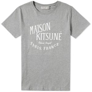 t-shirt gris Maison Kitsuné
