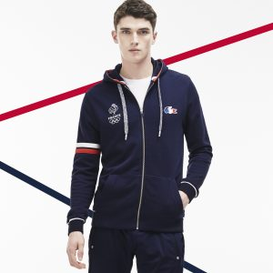 sweat zippé Lacoste France Olympique