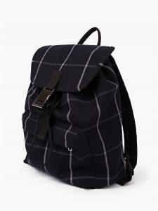 sac à dos à carreaux A.P.C.