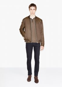 veste zippée marron The Kooples