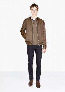 veste zippée marron The Kooples