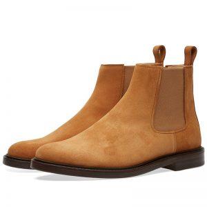 chelsea boots Ethan suède camel A.P.C.