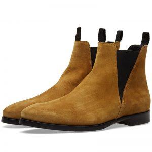 chelsea boots zack suède beige Acne Studios