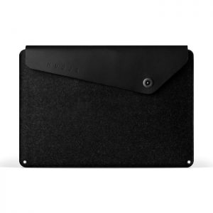 pochette feutre noir ordinateur portable Mujjo