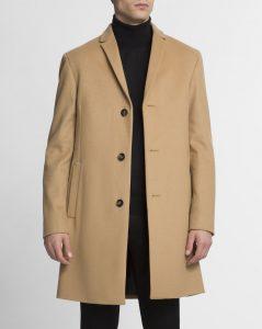 manteau en cachemire et laine Calvin Klein