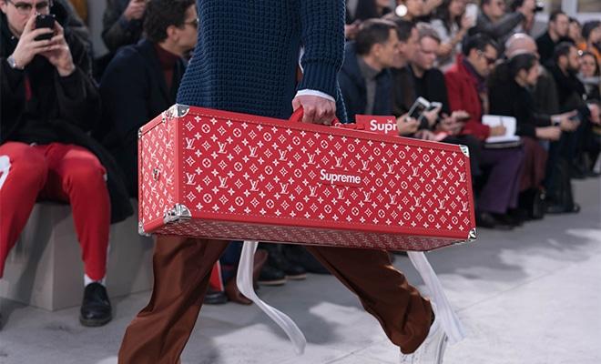 mallette Supreme Louis Vuitton