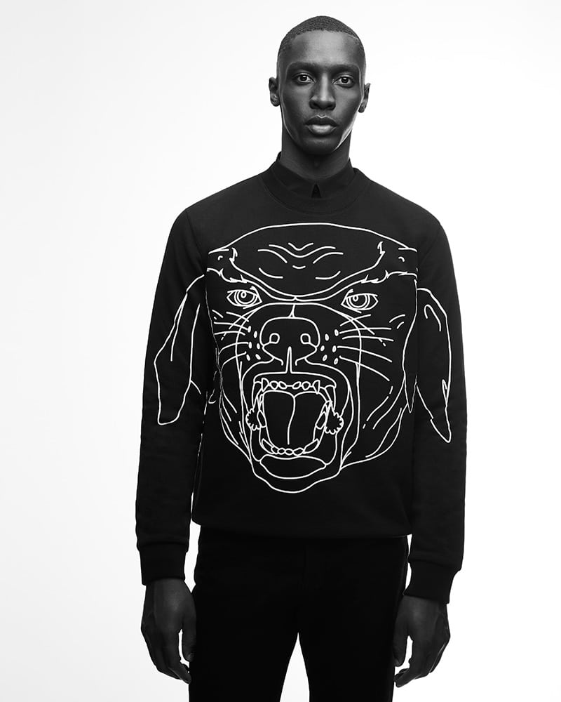 pull noir Rottweiler Givenchy