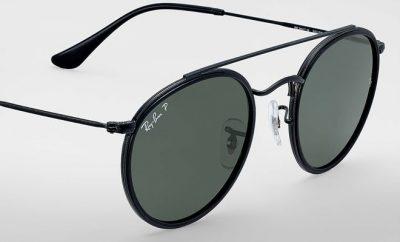 lunettes de soleil Ray-Ban Round double bridge