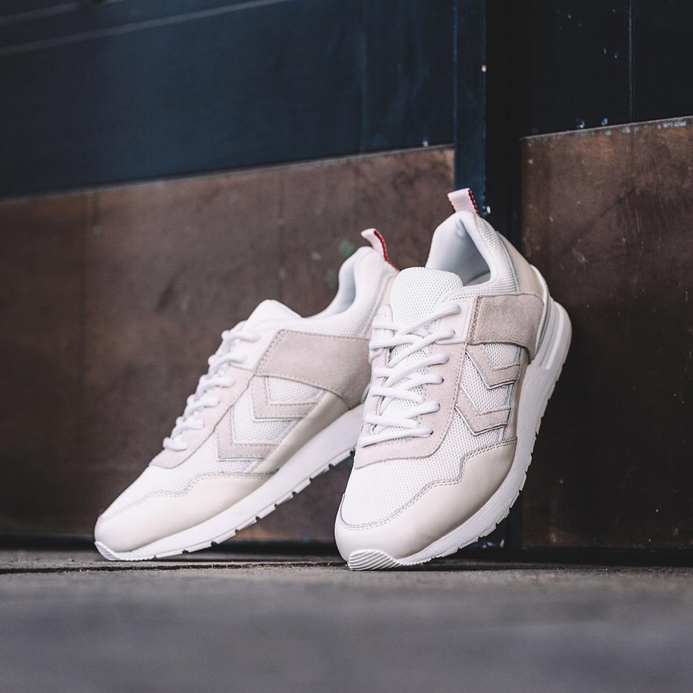 chaussures Hummel Marathona 2 blanc